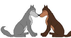 Brody And Serenity by Wolf--Prime