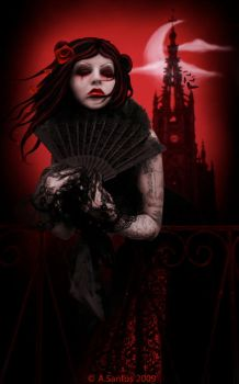 A Dream of Scarlet Nights. by Lady-Lilith666