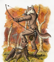 The Archer by 0laffson