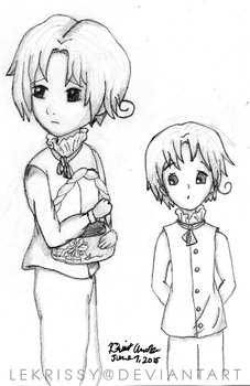 Young N.Italy doodles by lekrissy