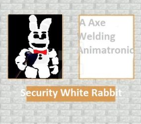 Security White Rabbit Detention Description by oldsportDSAF