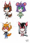 Open Adoptable Batch 1! (Set Price Reduced.) :3 by ShannonxNaruto