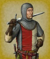 Human Male Fighter by quellion
