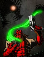 Hellboy Basilisk in a Box by MrTobert