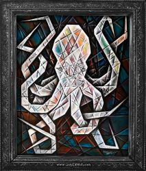 Cubist Octopus by GrayEldritch