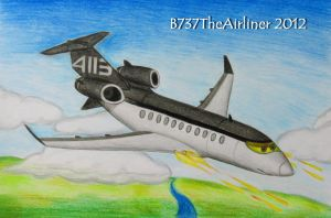 Siddeley Drawing by A320TheAirliner