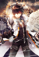 Elsword Raven Wallpaper for ios7 by Effex-Graphics