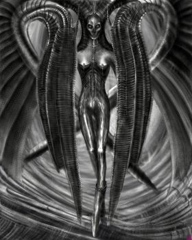 Giger's Lilith by Pussypuncher
