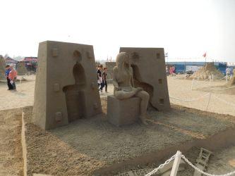 Sand Scultpure 1 by northernfly