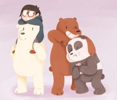 We Bare Bears by ladysantos30