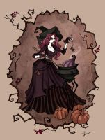 Cooking Witch by IrenHorrors