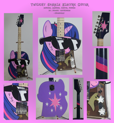 Twilight Sparkle Electric Guitar by Phoenix0117