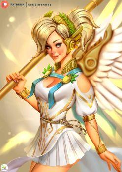 Mercy Summer Games Skin 2017 by Didi-Esmeralda