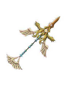 Curias' Zyphalion, the Sacrosanct Lance by Simply-Nouo