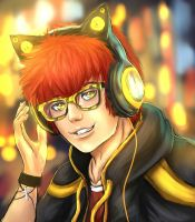 Mystic Messenger - 707 by ZToriko