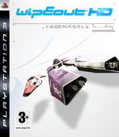 WipEout HD boxart by JJteam