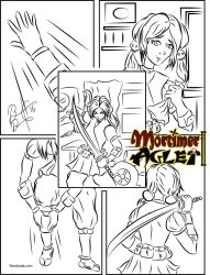 Aion Gears Up by MortimerAglet