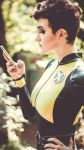 Negasonic Teenage Warhead Cosplay: Phone by mblackburn