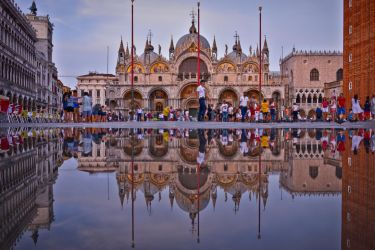 Venice, two basilicas by mysterious-one
