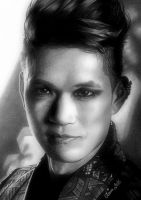 MAGNUS BANE aka Harry Shum Jr. by Mim78