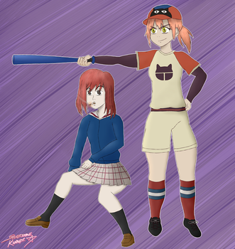 Haruko and Mamimi by Sylverstone14