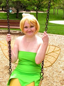 Tinkerbell Goes to the Park 3 by DesertOtaku