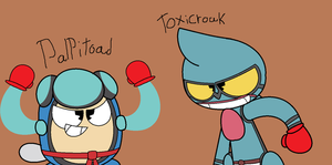 Palpitoad And Toxicroak's