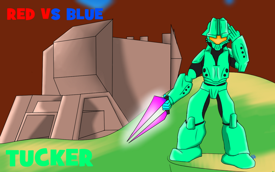 RvB Tucker by Thesimpleartist4