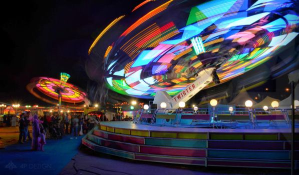 Saidia Park, long exposure by shaheeed