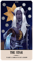 Commission: Akina tarot by RedlyJester