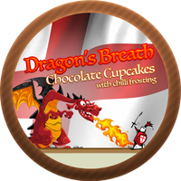 Dragons Breath Cupcakes, Chilli Chocolate Frosting by Echilon