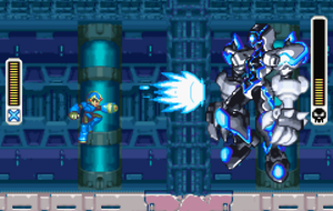 X vs. Alpha by MegamanX-2009