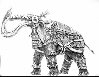 War Elephant 3 by Rathsi