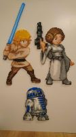 Star Wars #1-3. Luke Skywalker, Leia and R2D2 by MagicPearls