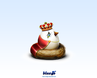Born to Be King by BlueX-Design