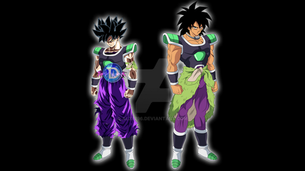 Goku Vs Broly - Who did it better? by AL3X796