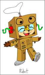 Doodle 8 - Robot by DoubleSNL