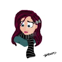 Striped Scarf Emotions by JezzieAvenger27