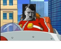 Adolf Hitler in Sonic X by Ludwikia