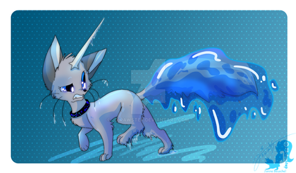 Wet Tail by JB-Pawstep