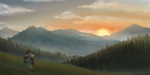Mountains by Stychno