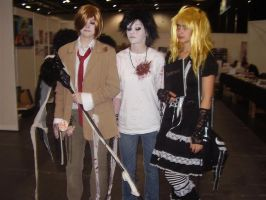 death note little Gang by angelic-cat15