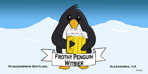 Frothy Penguin small by TrillionPixels