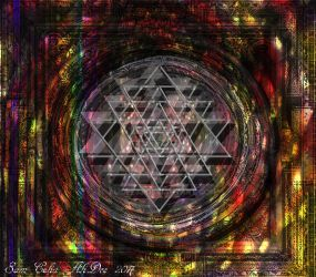 Sri Yantra Hologram by AliDee33