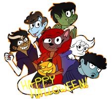 .: Happy Halloween :. by BIueTay