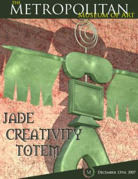 Jade Creativity Totem by sinnedaria