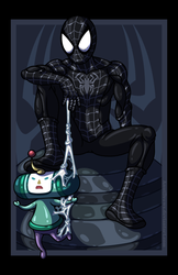Spider-Man vs. The Prince VARIANT by AnutDraws
