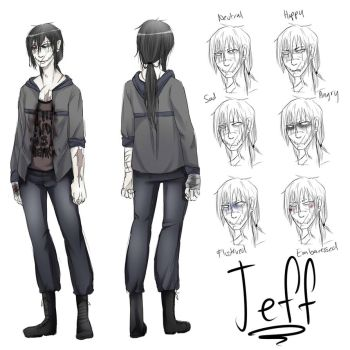 Jeff The Killer 3rd comic Concept by Chibi-Works