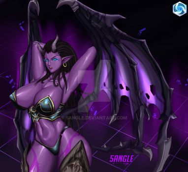 Succubus Kerrigan from Heroes of the storm by 5Angle