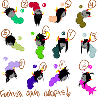 3 point Grub Adopts [2 LEFT] by MommaMercer